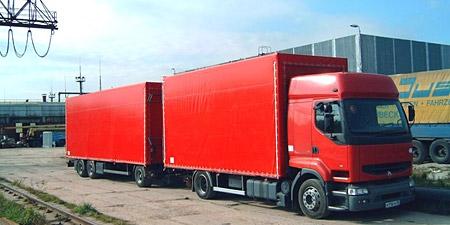 Пошив тентов на грузовые автомобили Алматы