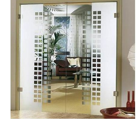 Order Production of glass doors