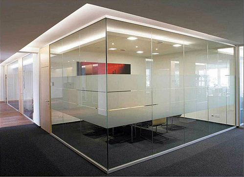 Order Production of glass partitions