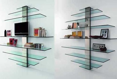 Order Production of glass shelves