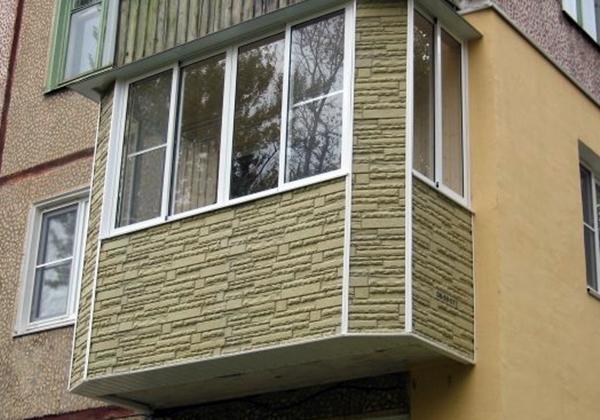 Order Finishing of balcony under stone brick