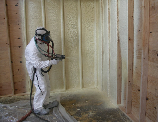 Order High-quality isolation by method of a dusting of polyurethane foam of any objects.