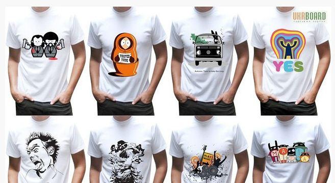 Заказать Нанесение изображения на футболки Шымкент