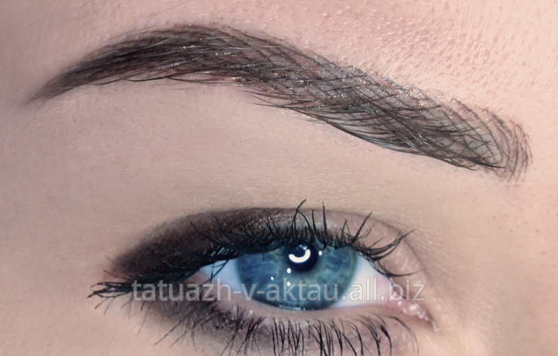 Перманентный макияж с эффектом теней