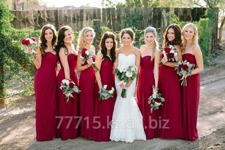 Платья для подружек невесты на прокат