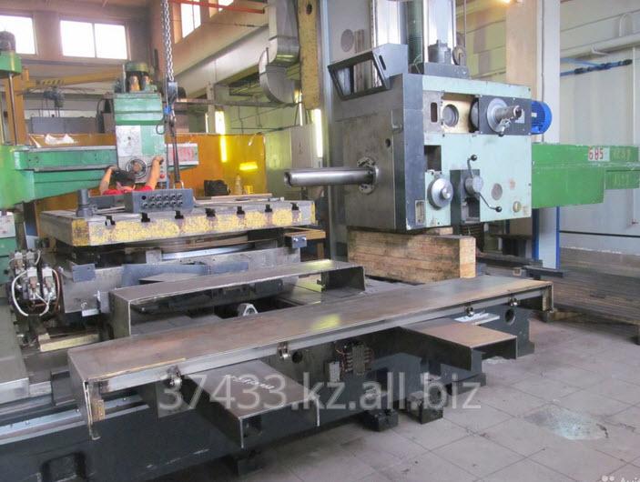 Заказать Горизонтально расточная обработка деталей габаритом 2000х1500 H=1500 мм