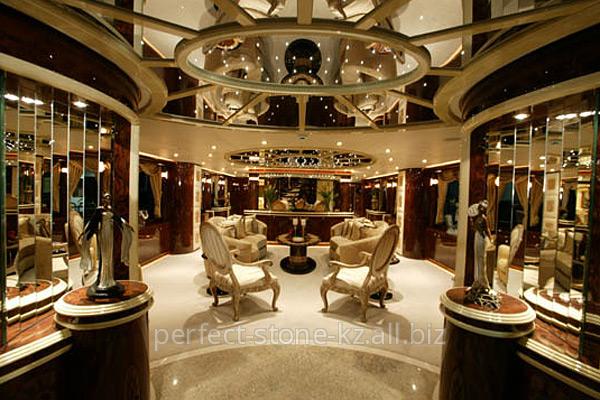 Дизайн интерьеров  частных яхт и катеров