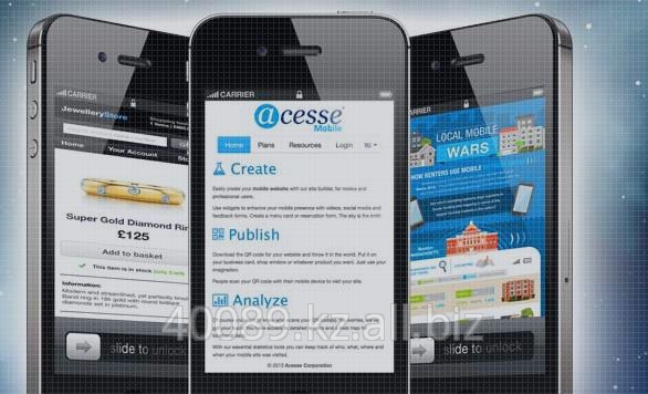 Заказать Создание мобильных сайтов