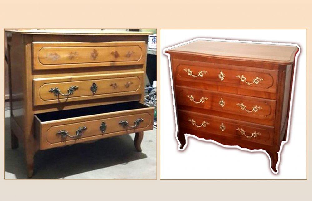 Качественная реставрация антикварной мебели из дерева