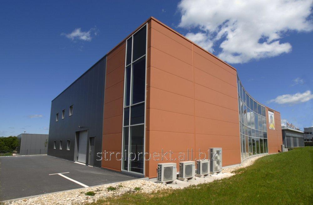 Заказать Строительство производственных зданий