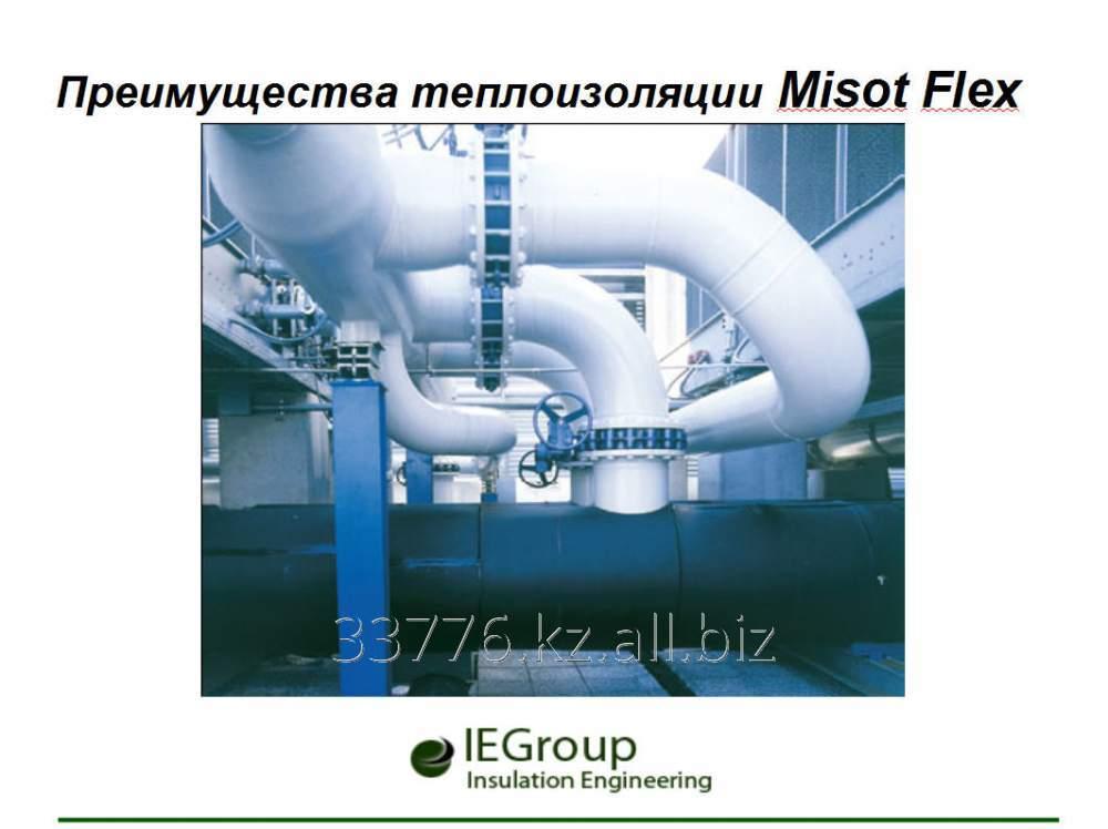Заказать Преимущества теплоизоляции Misot Flex