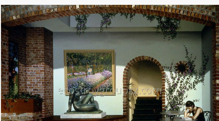Order List of walls, 3d painting, frescos and aerographics