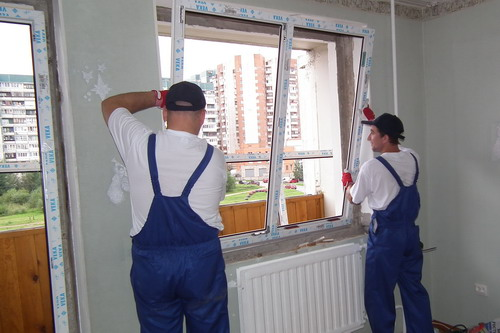 Order Installation of doors and windows