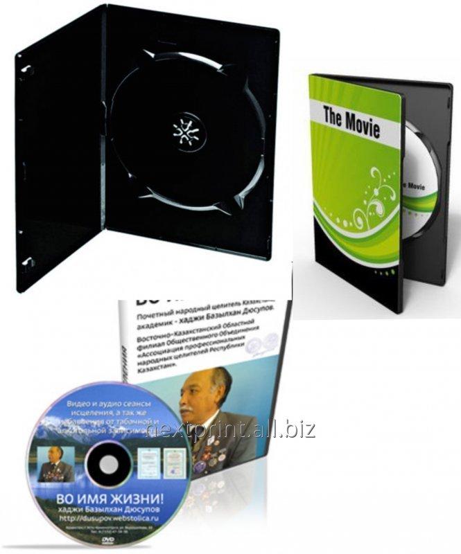 Печать на CD и DVD дисках, тиражирование