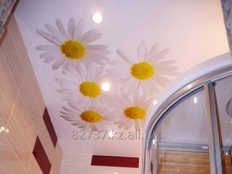 Заказать Подвесные потолки с изображениями