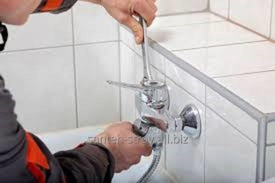 Работы сантехнические в Алматы