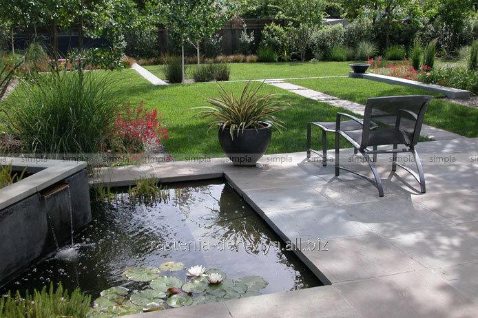 Сад в современном стиле
