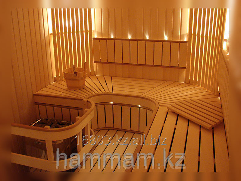 Finishing of saunas and baths order in Almaty