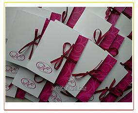 Order Service production of cards