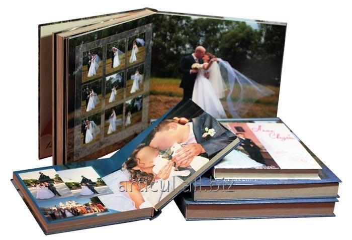 Услуга печати фотокниг с фотографиями