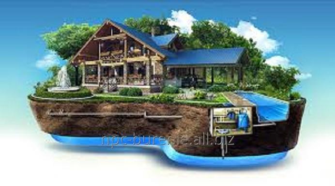 Заказать Водоснабжение от ТОО Научно-производственный центр Бурение