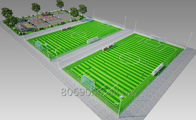 Строительство спортивных сооружений, Строительство мини-футбольных полей