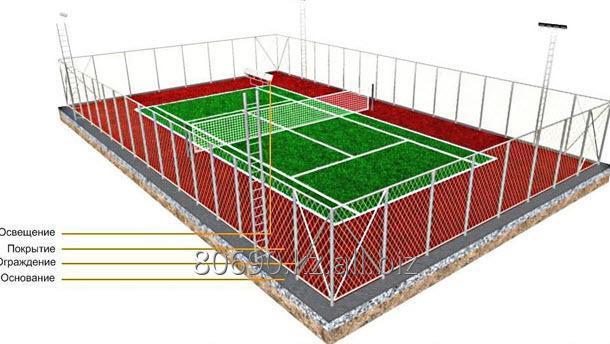 Строительство теннисных кортов