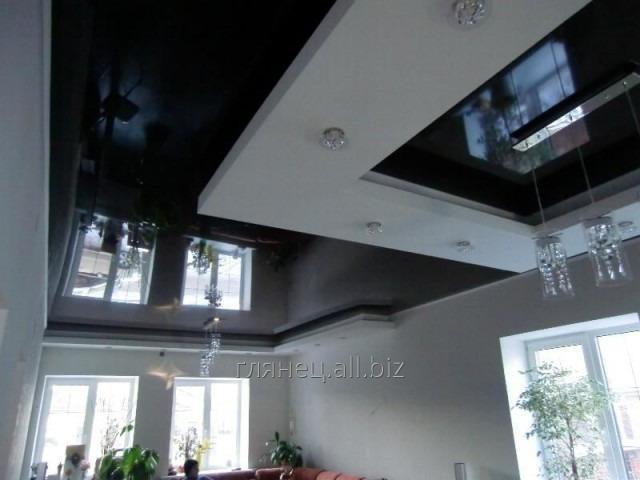 Заказать Установка и дизайн натяжных потолков многоуровневых модель 1