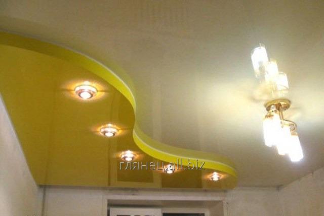 Заказать Установка и дизайн натяжных потолков многоуровневых модель 2