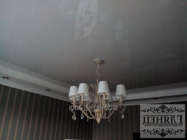 Заказать Установка и дизайн натяжных потолков многоуровневых модель 6