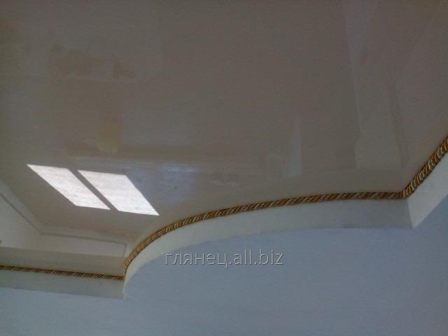 Заказать Установка и дизайн натяжных потолков многоуровневых модель 14