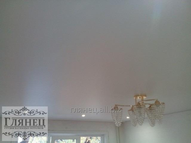 Заказать Установка матового натяжного потолка модель 4