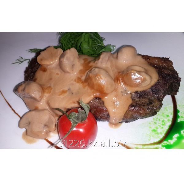 Заказать Доставка еды - Стейк с грибами