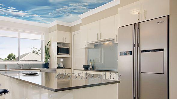 Заказать Фотопечать на кухонном потолке