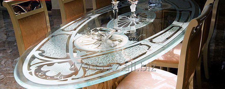 Печать на столе в столовую