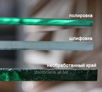 Заказать Притупление зачистка кромки стекла