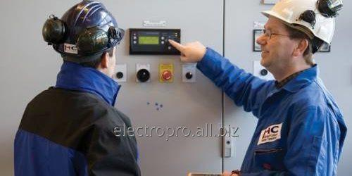 Order Electric installation services