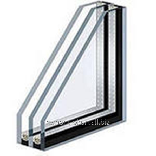 Заказать Замена стекла на пластиковых окнах и дверях