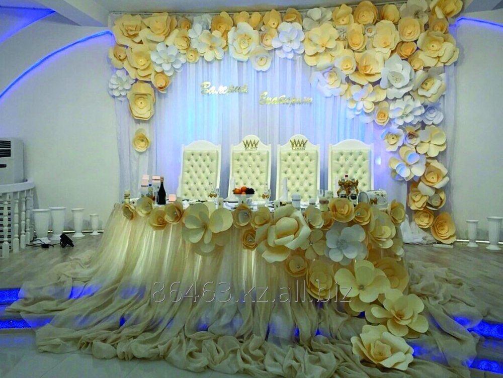 Фото оформления свадебного зала: 413 года на 94