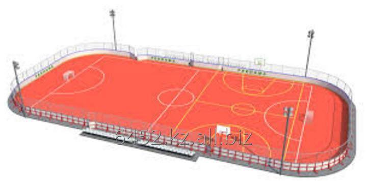 Заказать Строительство хоккейных площадок