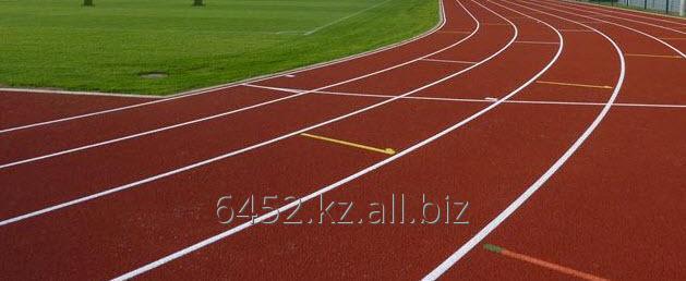 Заказать Укладка спортивных беговых дорожек