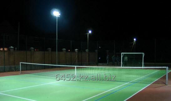 Заказать Освещение теннисных кортов и спортивных площадок