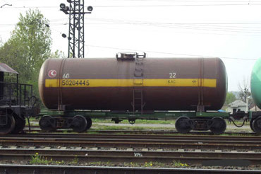 Order Rent of railway tanks