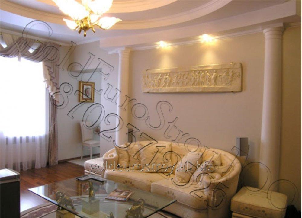 Заказать Косметический ремонт квартир в Караганде и области
