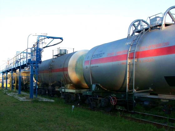 Order Delivery of the liquefied gas railway tanks