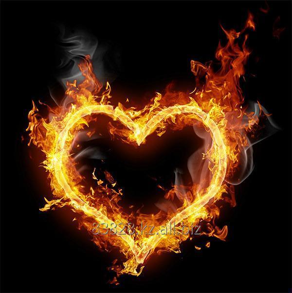 сердце огненное картинки