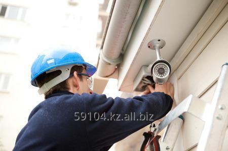 Заказать  Установка видеонаблюдения, ремонт, монтаж камеры видеонаблюдения любой сложности