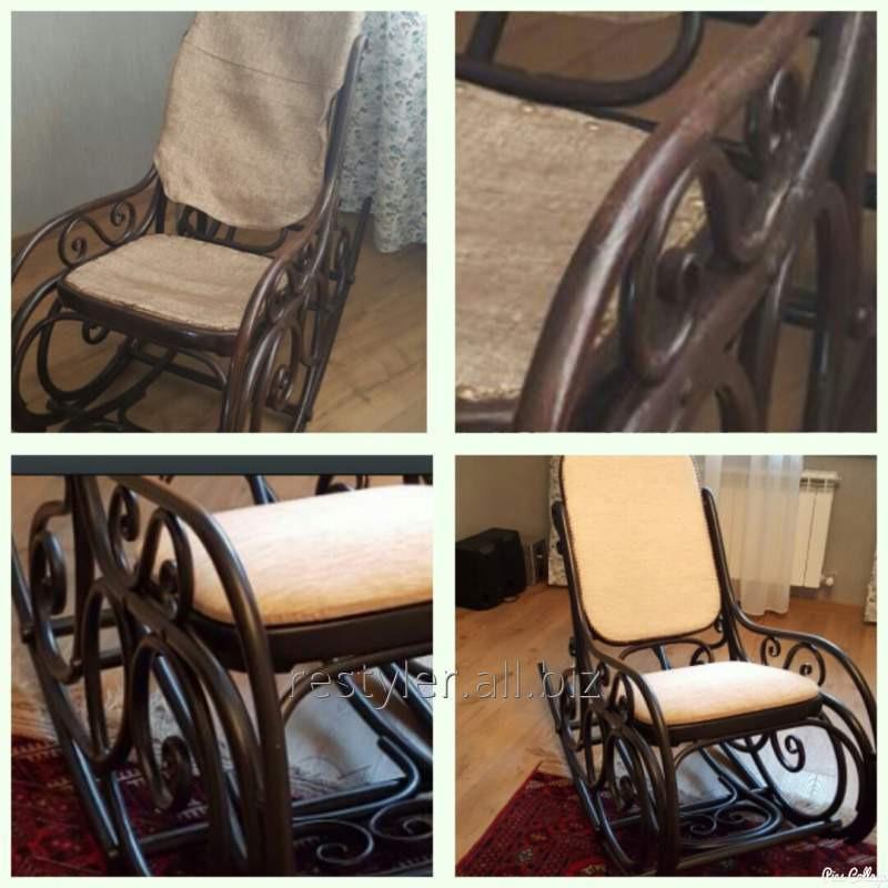 Реставрация деревянного кресла