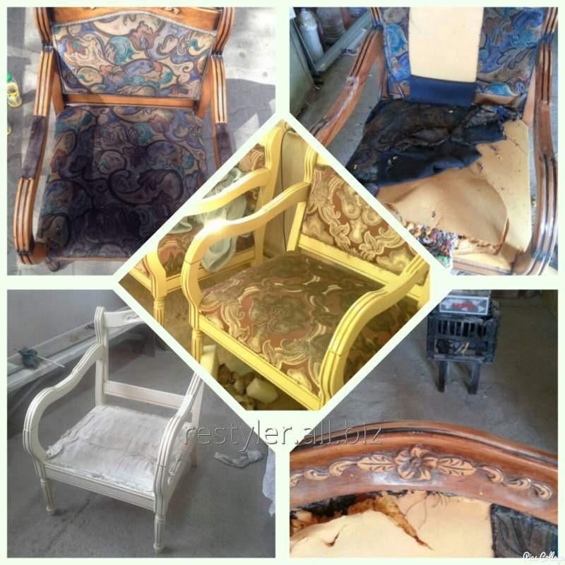 Реставрация мягкого стула