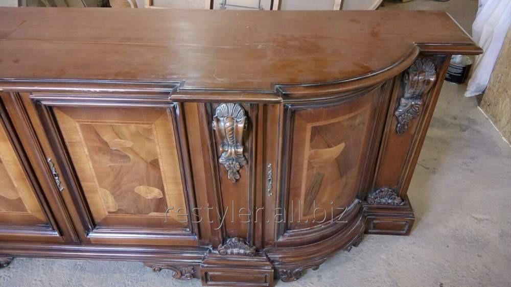 Реставрация деревянных элементов мебели